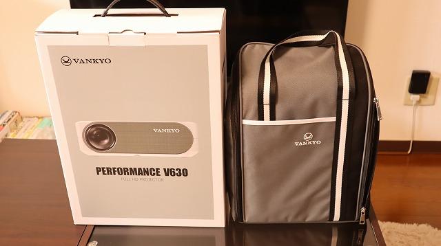 VANKYO V630 ケースと箱